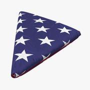 Bandiera degli Stati Uniti 03 3d model