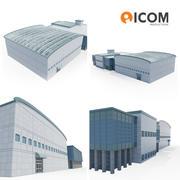 Industrieel hoofdkantoor 3d model