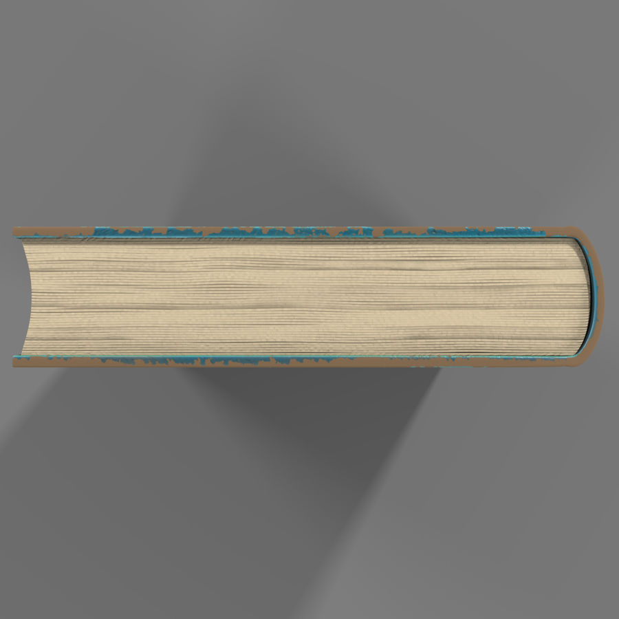 Arabian Book_ Blue royalty-free 3d model - Preview no. 8