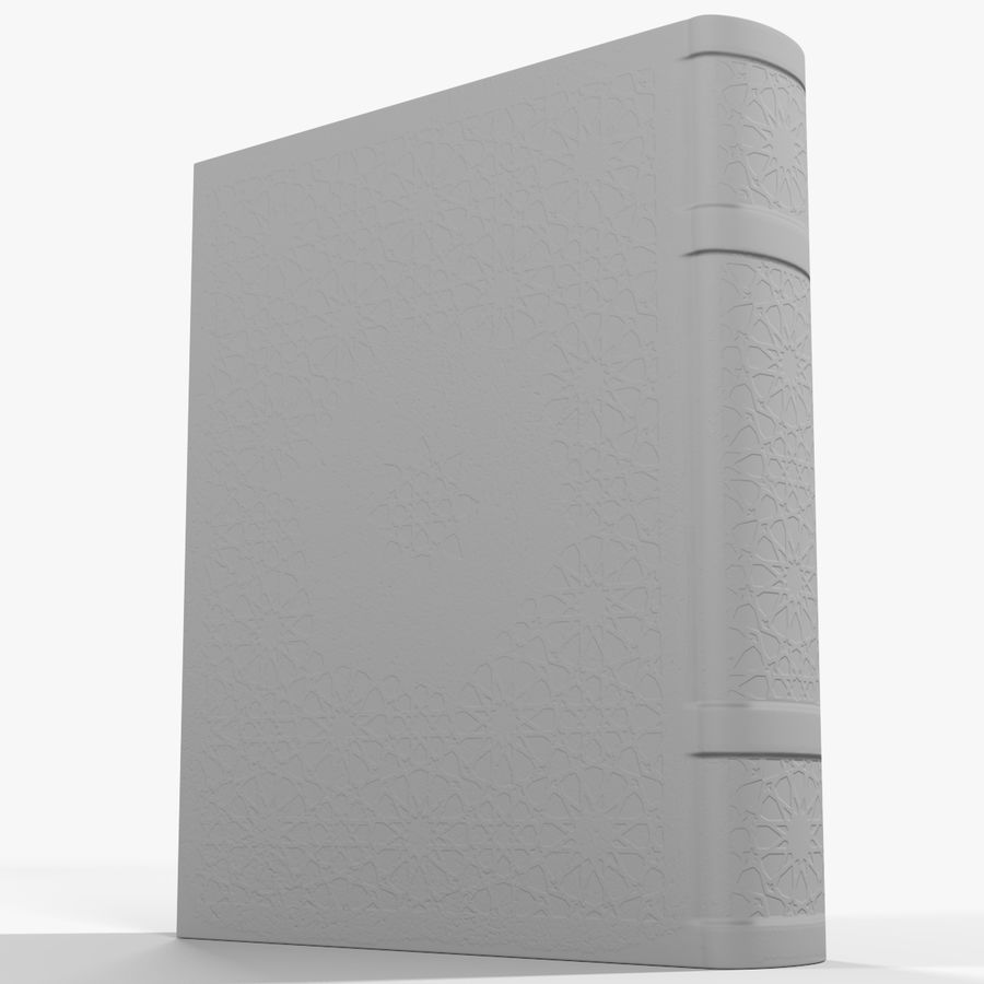 Arabian Book_ Blue royalty-free 3d model - Preview no. 10