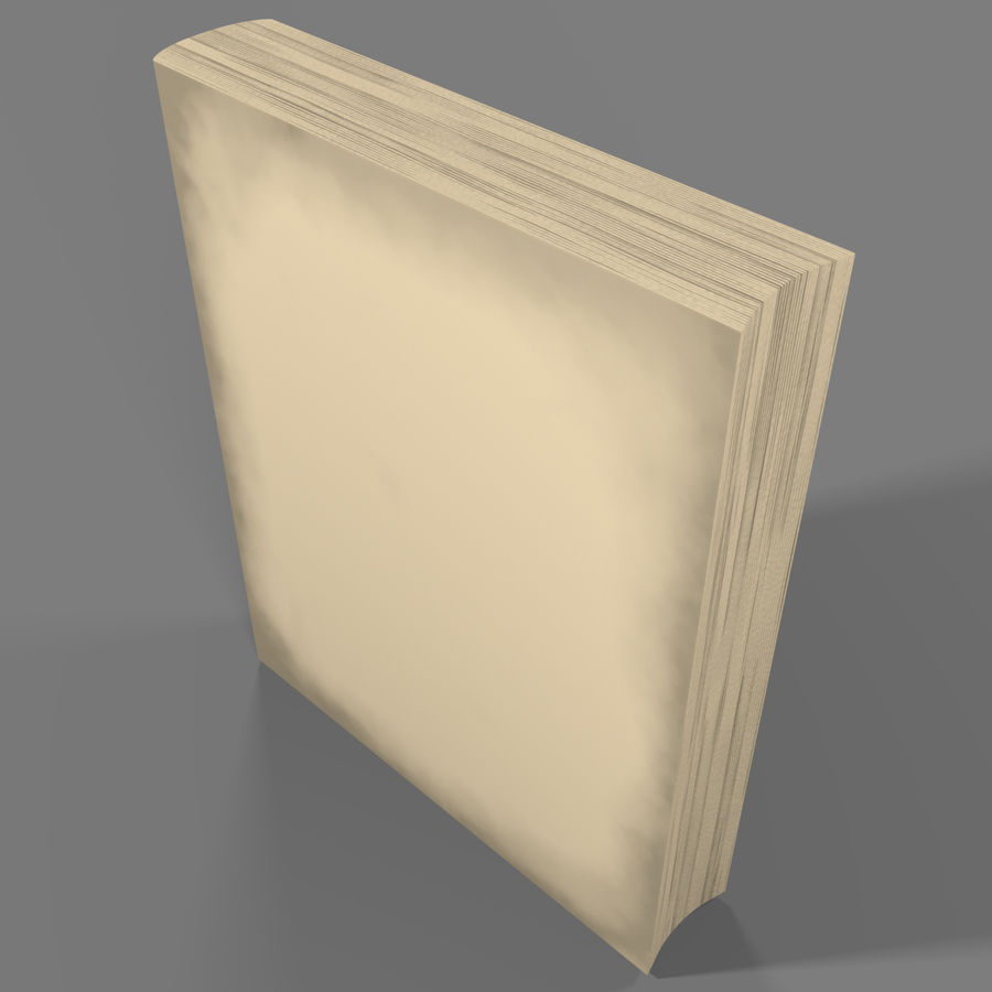 Arabian Book_ Blue royalty-free 3d model - Preview no. 5