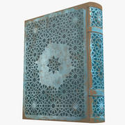 Arabian Book_ Blue 3d model