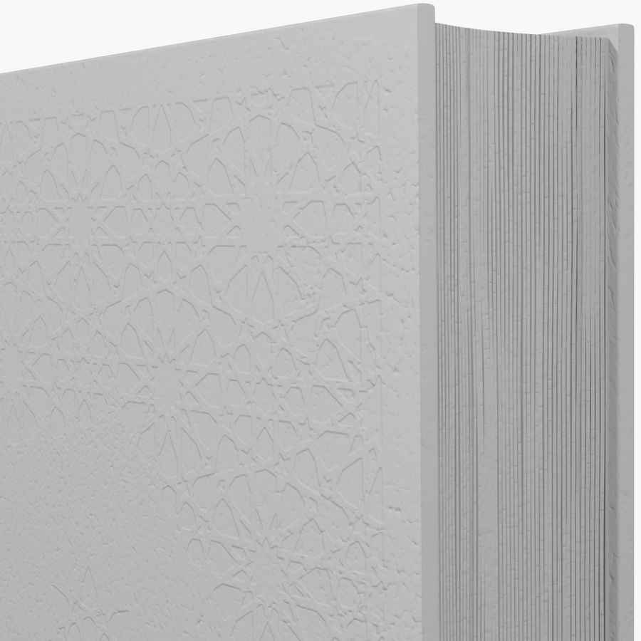 Arabian Book_ Blue royalty-free 3d model - Preview no. 12