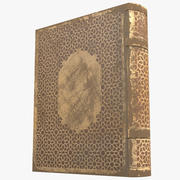 Arabian Book_ Yellow 3d model