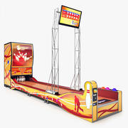 Bowling Arcade Machine 3d model