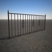 Iron Yard Fence 3d model