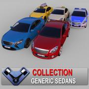 "Kolekcja sedanów ""Majestic"" 3d model"