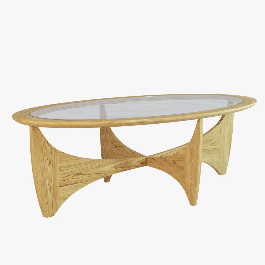 Coffee Table Astro royalty-free 3d model - Preview no. 1