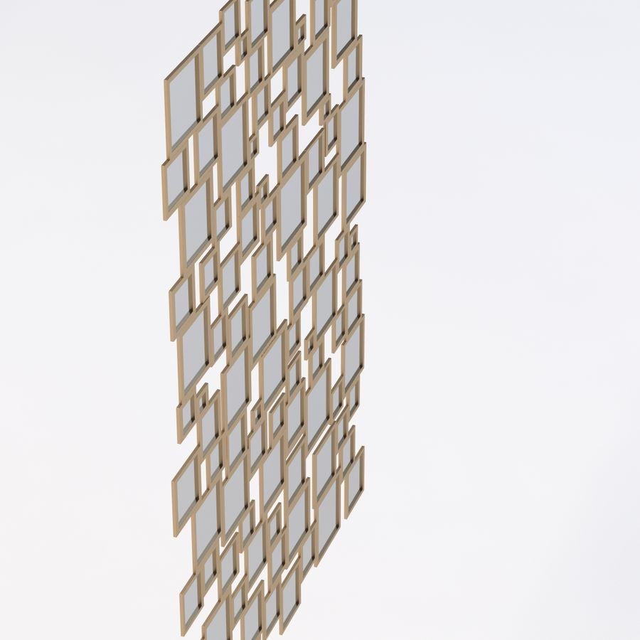 Miroir Isabella par Zgallerie royalty-free 3d model - Preview no. 5