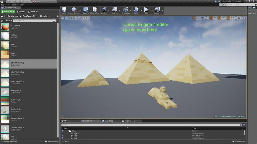 Низкополигональный сфинкс и пирамиды в Гизе royalty-free 3d model - Preview no. 9