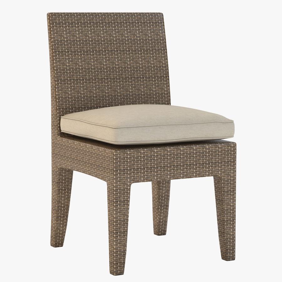 La Jolla Кресло без подлокотников royalty-free 3d model - Preview no. 1