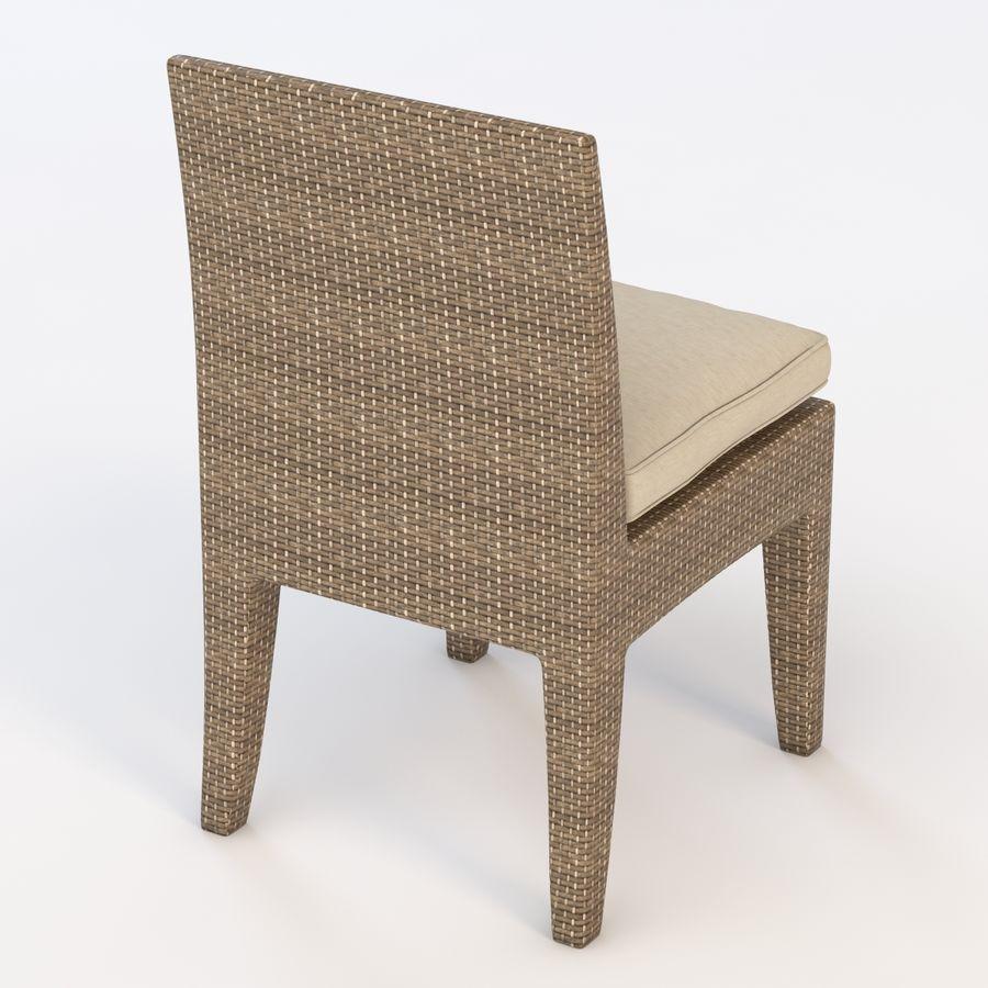 La Jolla Кресло без подлокотников royalty-free 3d model - Preview no. 6