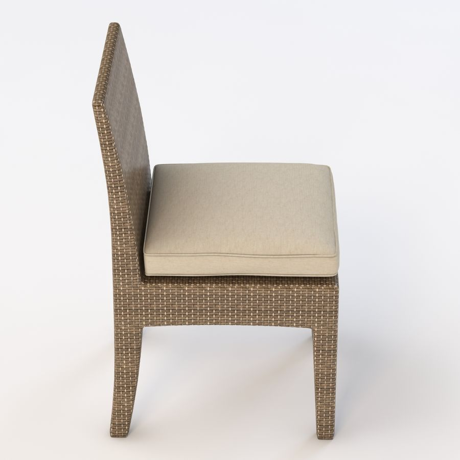 La Jolla Кресло без подлокотников royalty-free 3d model - Preview no. 5