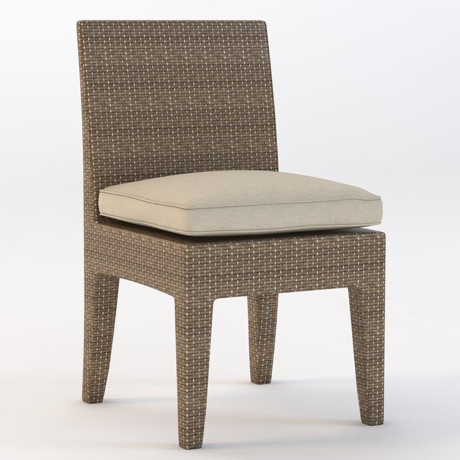 La Jolla Кресло без подлокотников royalty-free 3d model - Preview no. 2