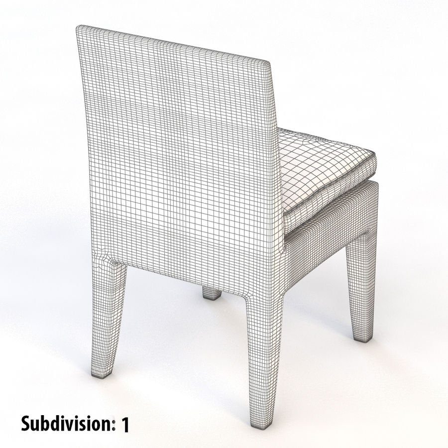 La Jolla Кресло без подлокотников royalty-free 3d model - Preview no. 7