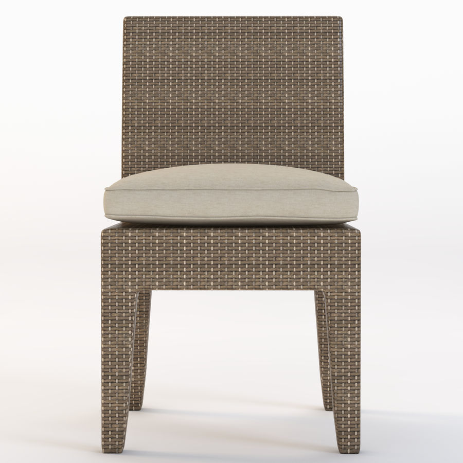La Jolla Кресло без подлокотников royalty-free 3d model - Preview no. 12