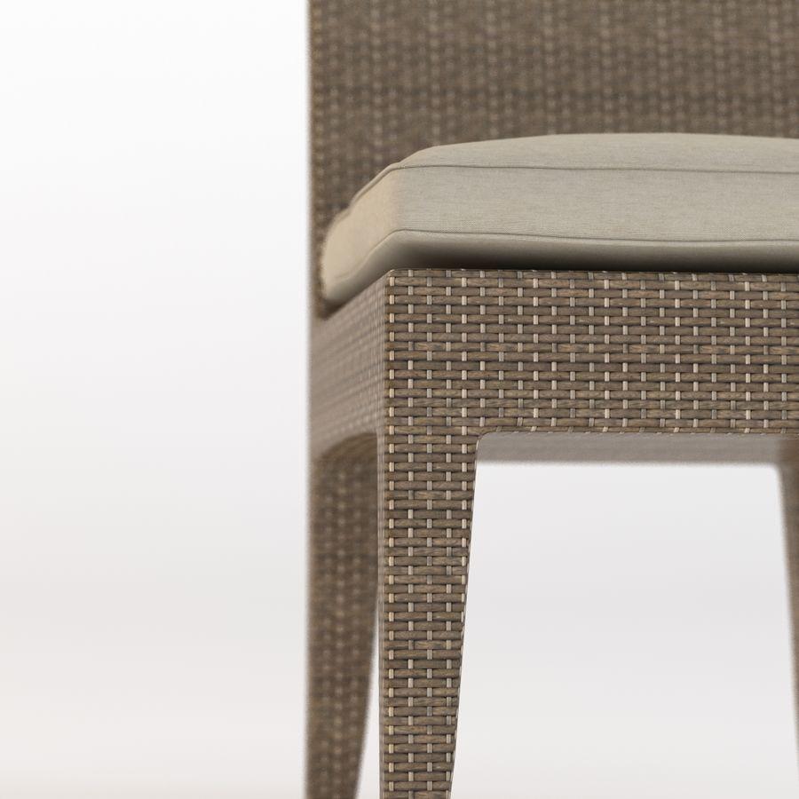 La Jolla Кресло без подлокотников royalty-free 3d model - Preview no. 10