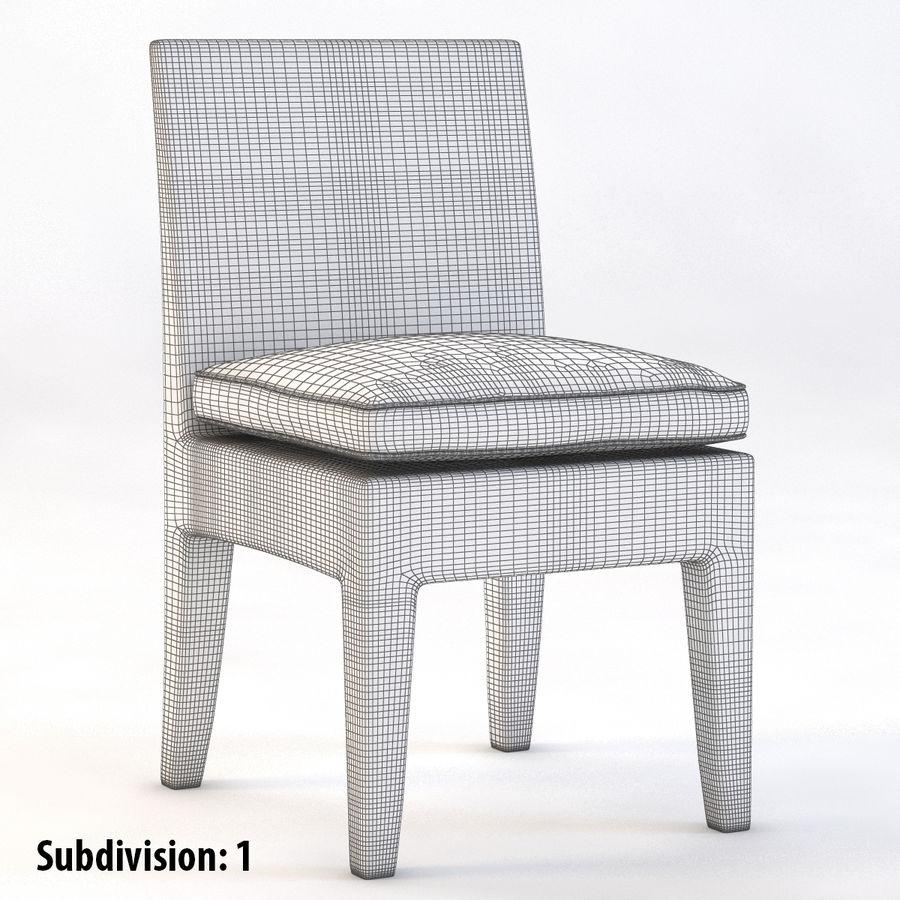 La Jolla Кресло без подлокотников royalty-free 3d model - Preview no. 3