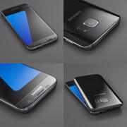 Samsung Galaxy S7 Preto 3d model