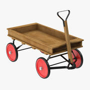 Child Wagon 01 3d model