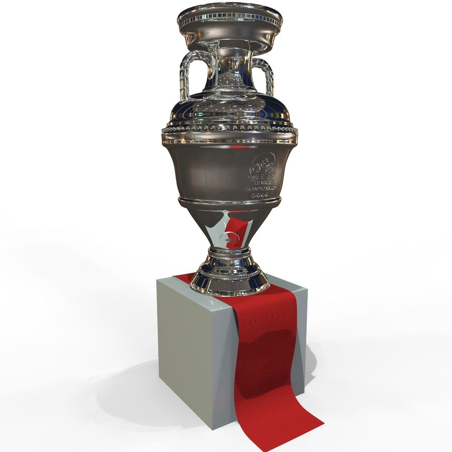 Cup Champion royalty-free 3d model - Preview no. 9