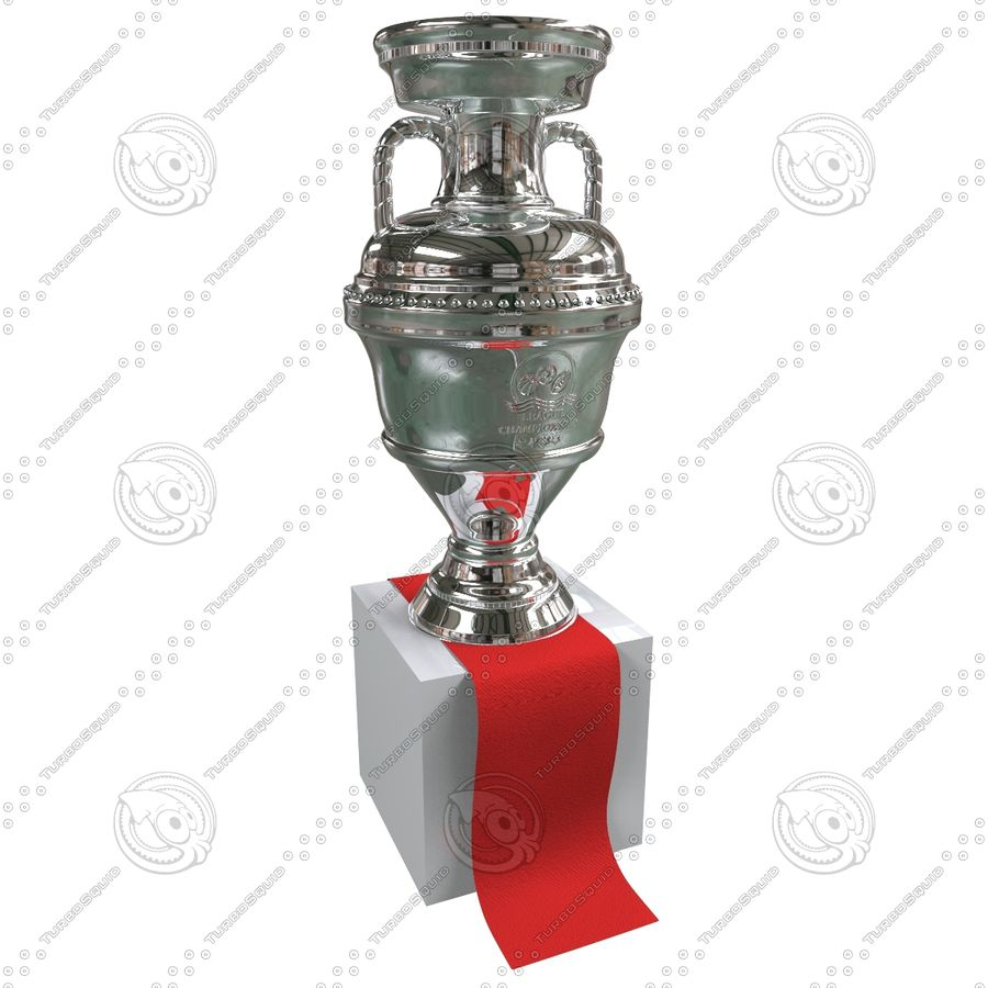 Cup Champion royalty-free 3d model - Preview no. 3