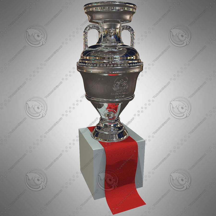 Cup Champion royalty-free 3d model - Preview no. 2