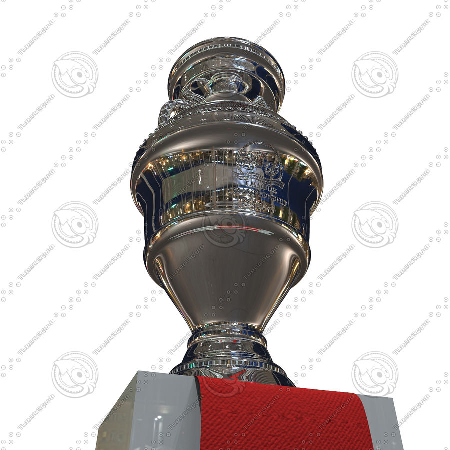 Cup Champion royalty-free 3d model - Preview no. 8