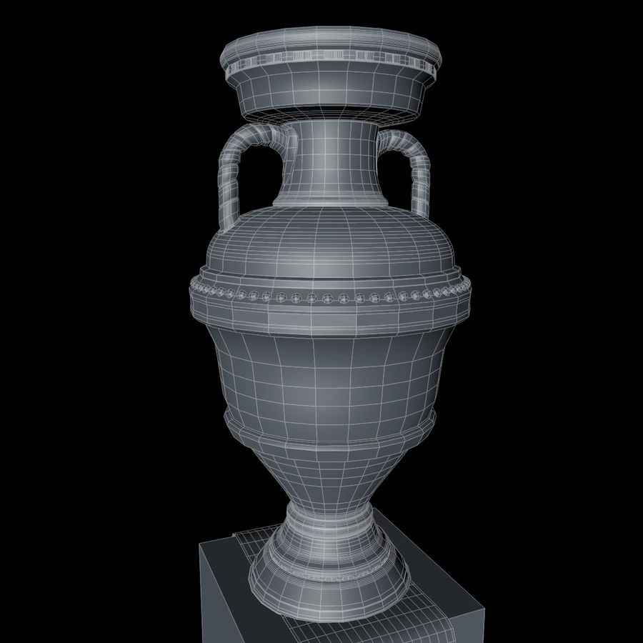 Cup Champion royalty-free 3d model - Preview no. 13