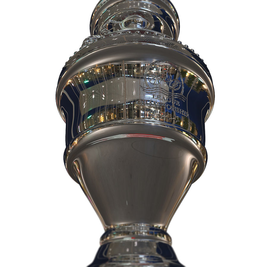 Cup Champion royalty-free 3d model - Preview no. 7