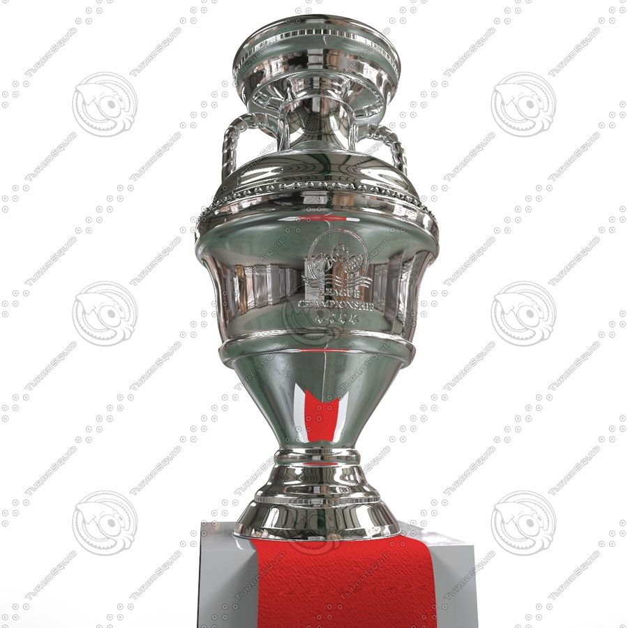 Cup Champion royalty-free 3d model - Preview no. 5