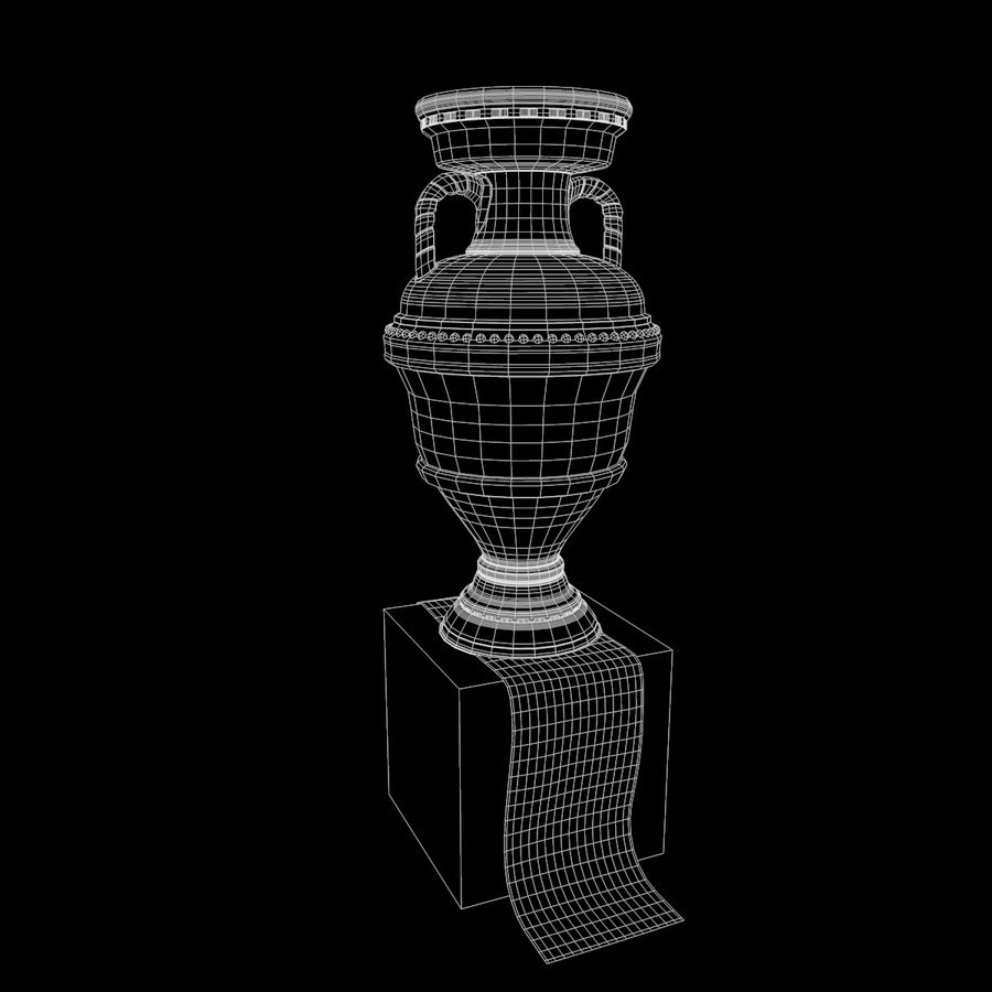 Cup Champion royalty-free 3d model - Preview no. 11