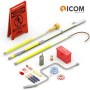 Elektricien Tools-bundel 3d model