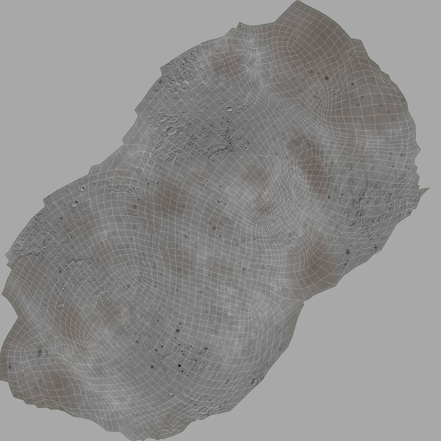 Asteroid royalty-free 3d model - Preview no. 18