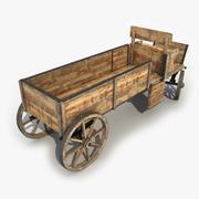 Old Cart 5 3d model