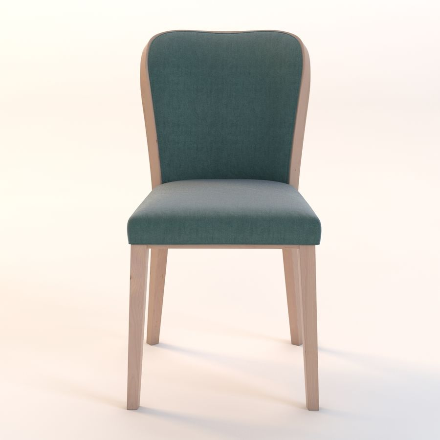 Uffe Tria Side Chair royalty-free 3d model - Preview no. 11