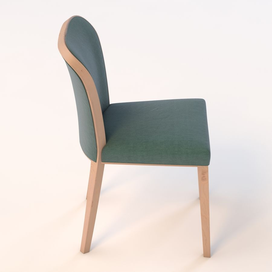 Uffe Tria Side Chair royalty-free 3d model - Preview no. 4