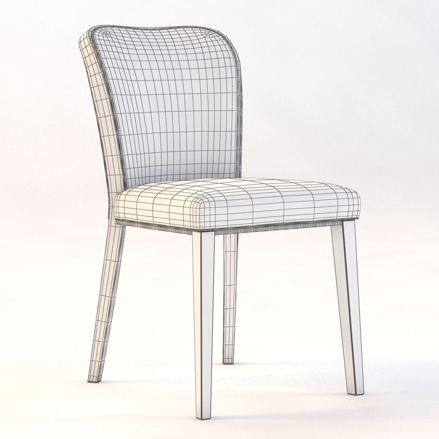 Uffe Tria Side Chair royalty-free 3d model - Preview no. 3