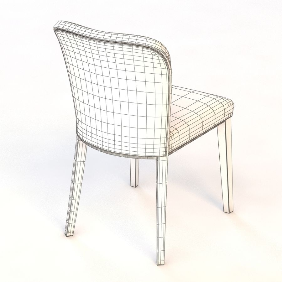 Uffe Tria Side Chair royalty-free 3d model - Preview no. 7