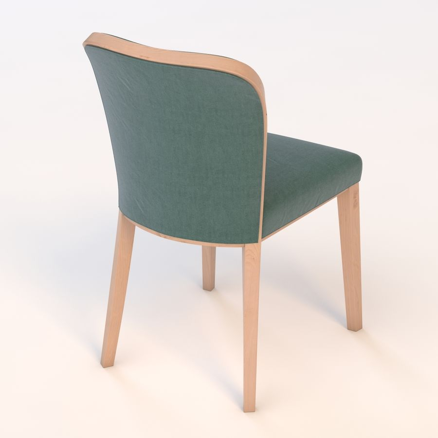 Uffe Tria Side Chair royalty-free 3d model - Preview no. 6