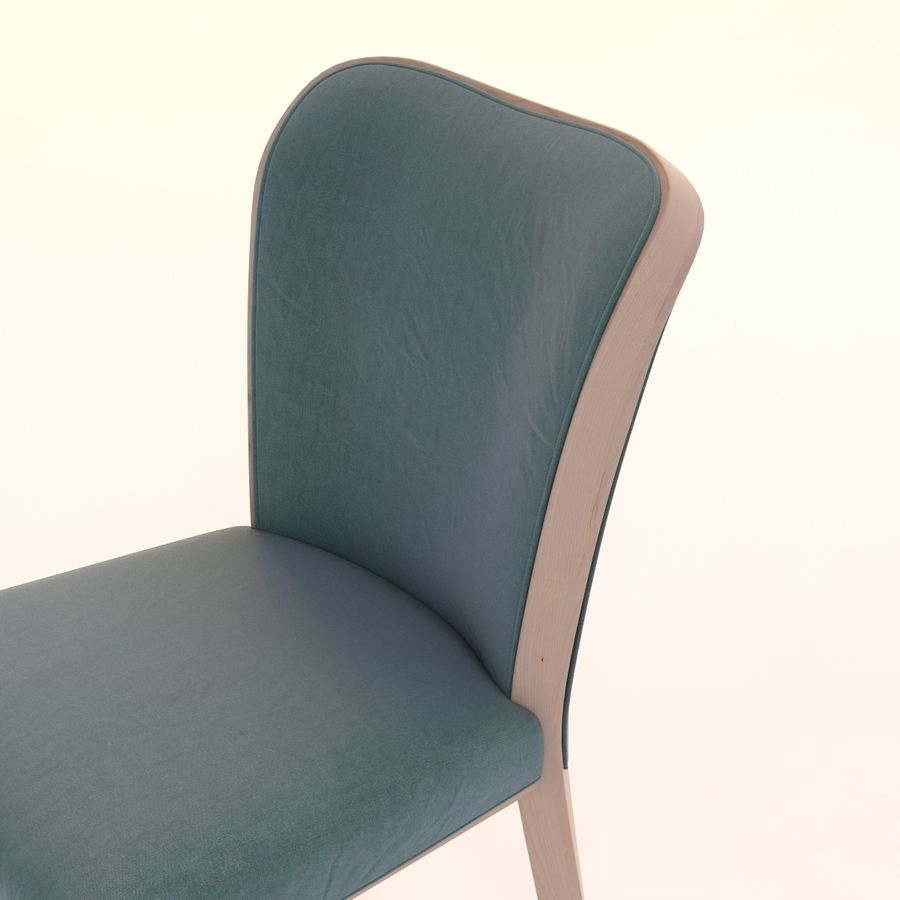 Uffe Tria Side Chair royalty-free 3d model - Preview no. 8