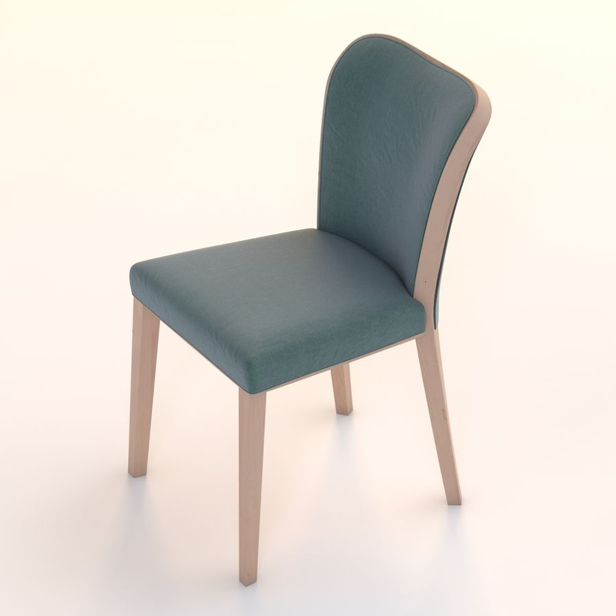 Uffe Tria Side Chair royalty-free 3d model - Preview no. 9