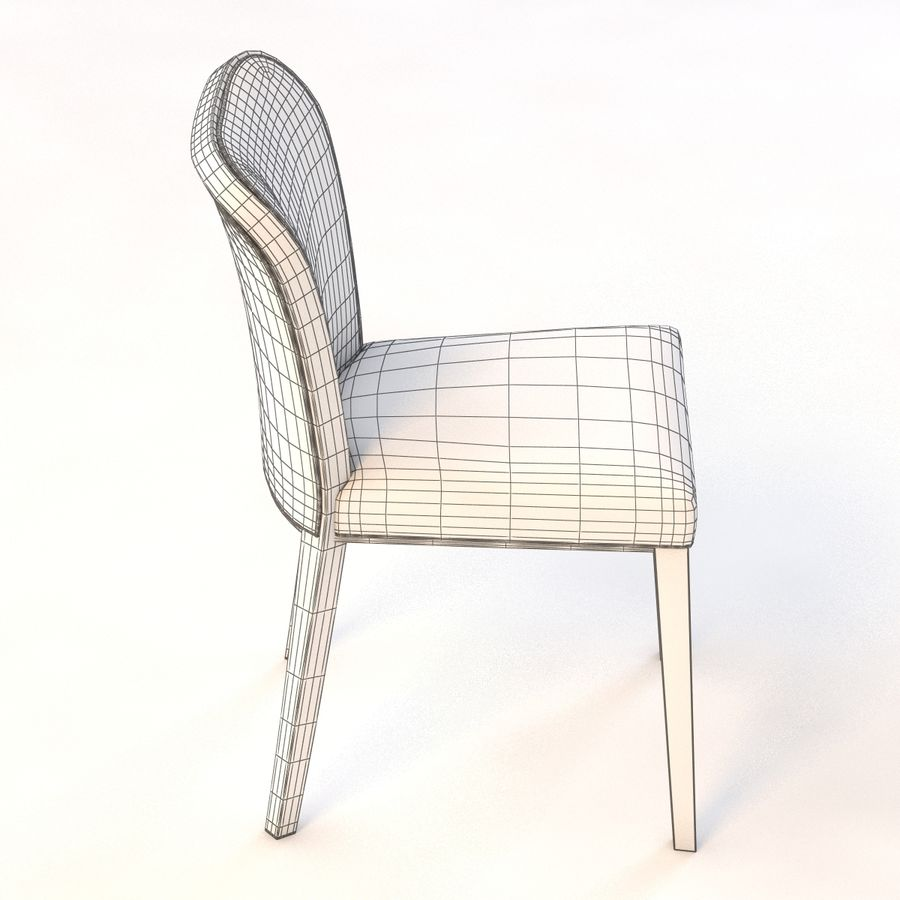 Uffe Tria Side Chair royalty-free 3d model - Preview no. 5