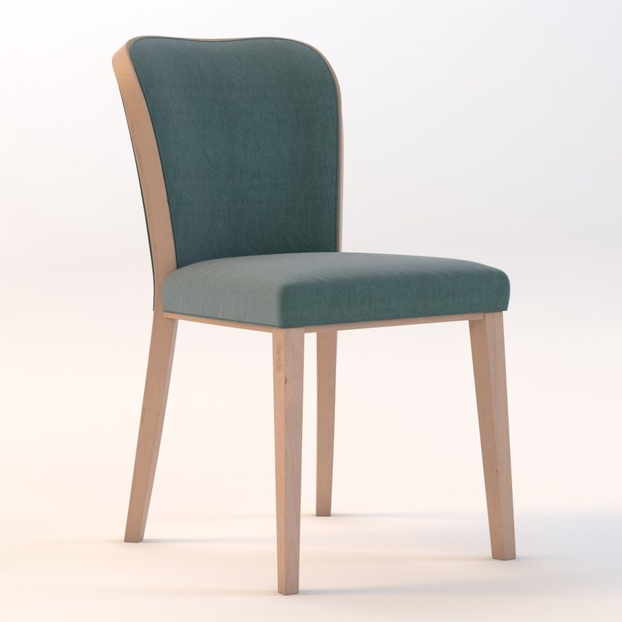 Uffe Tria Side Chair royalty-free 3d model - Preview no. 2