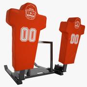サッカートレーニングダミー06 3d model