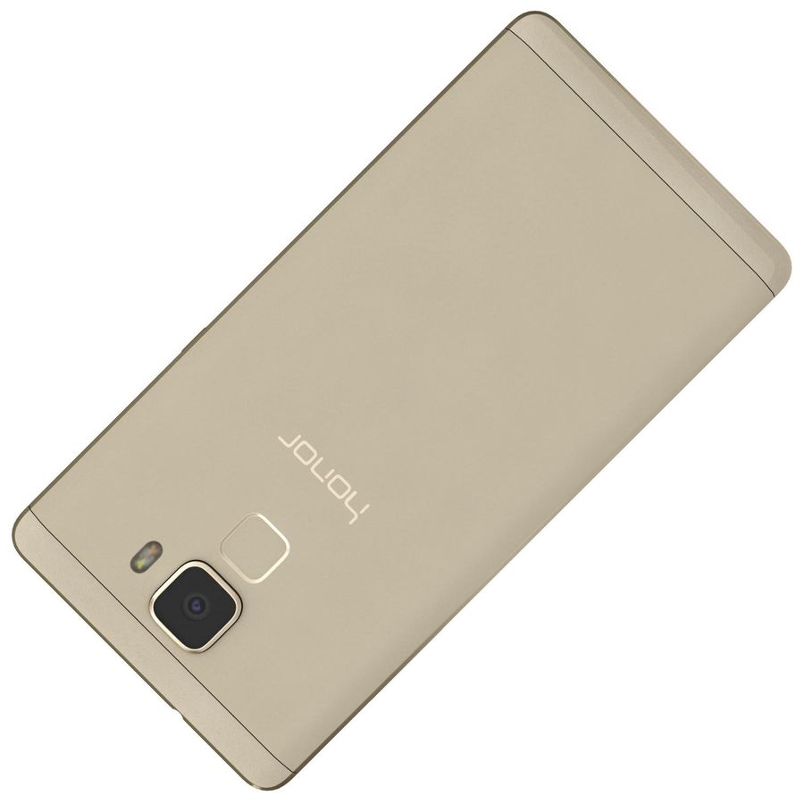 Huawei Honor 7 Gold royalty-free 3d model - Preview no. 22