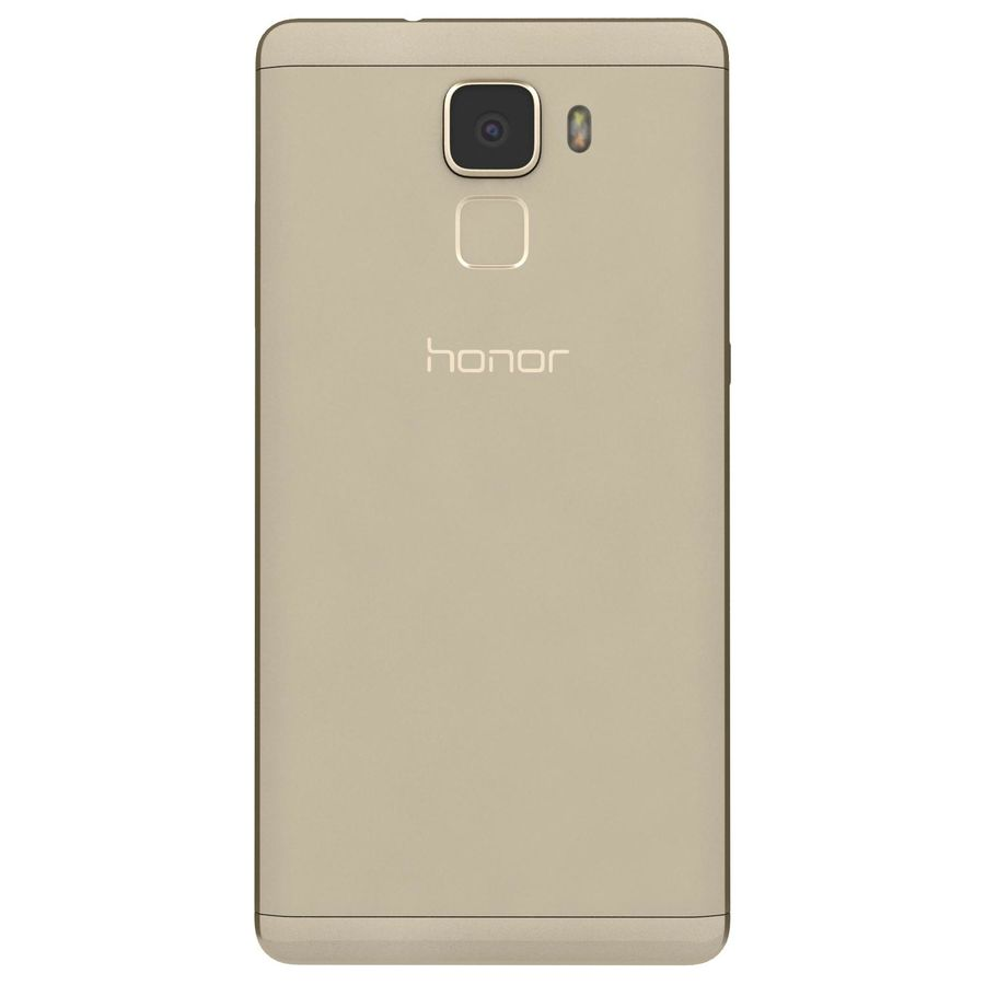 Huawei Honor 7 Gold royalty-free 3d model - Preview no. 7