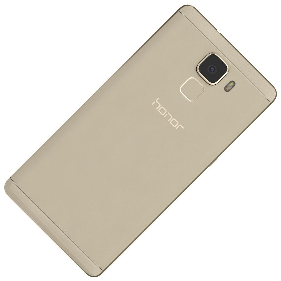 Huawei Honor 7 Gold royalty-free 3d model - Preview no. 20