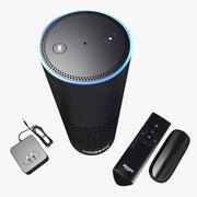 Amazon Echo modelo 3d