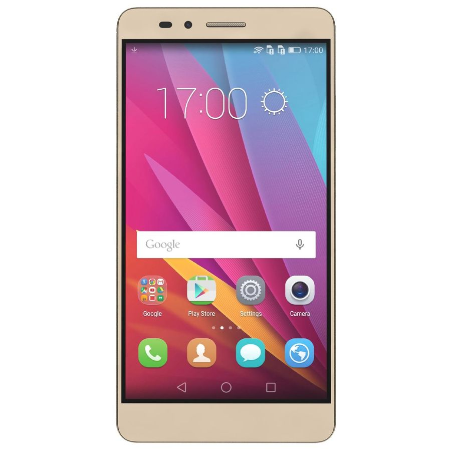 Huawei Honor 5X Gold royalty-free 3d model - Preview no. 6